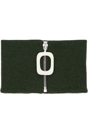 J.W.Anderson Zip-up Wool Knit Neckband