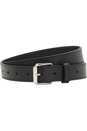 Comme des Garçons Men Belts - 3cm Classic Leather Belt