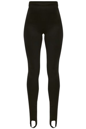 Prada Stirrup-cuff Stretch-jersey Leggings - Womens