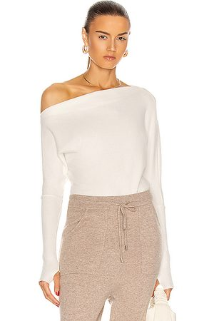 ENZA COSTA Sweater Knit Slouch Top in Winter
