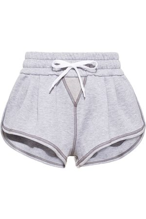 Miu Miu Contrast stitch shorts