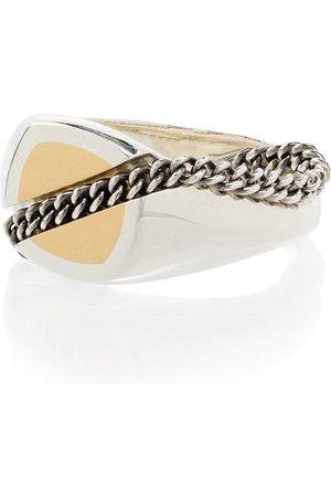 M. COHEN 18kt gold signet ring