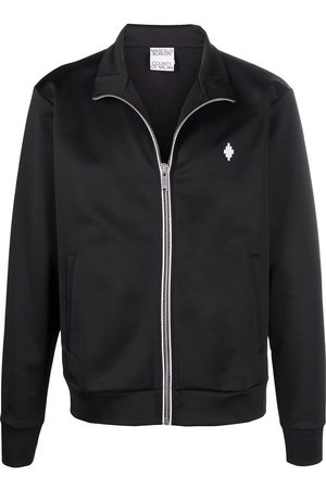 MARCELO BURLON Logo-embroidered track jacket