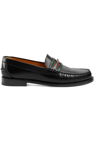 Gucci Logo-plaque detail loafers