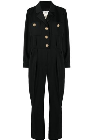 Yves Saint Laurent Women Jumpsuits - 1994 rhinestone-embellished buttons jumpsuit