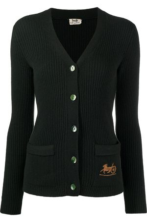 Céline Pre-Owned Pre-owned carriage logo cardigan