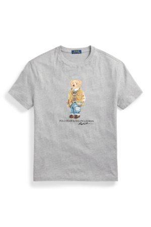 Polo Ralph Lauren Men Polo Shirts - Custom Slim Fit Polo Bear T-Shirt