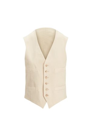 Polo Ralph Lauren Men Chinos - Garment-Dyed Stretch Chino Waistcoat