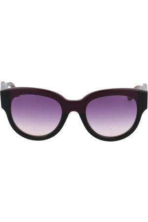 Marni WOMEN'S ME600S600 BURGUNDY METAL SUNGLASSES