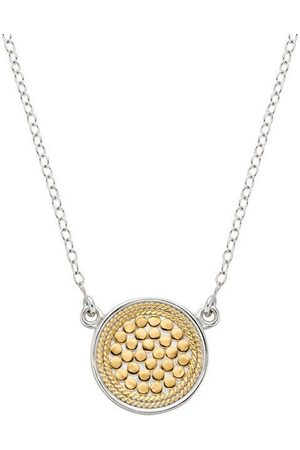 Anna Beck Women Necklaces - Reversible Disc Necklace - Gold &