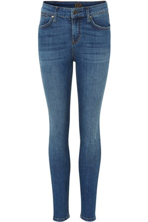 DONNA IDA Rizzo High Top Ankle Skinny Jeans - Road Tripping