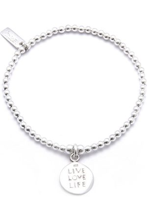 ChloBo Cute Charm Bracelet With Live Love Life Charm