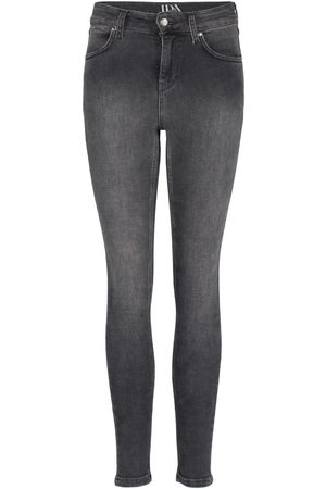 DONNA IDA Rizzo High Top Ankle Skinny Jeans - Planetary
