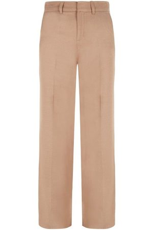 Intropia Women Formal Trousers - Tailored Straight Leg Trouser