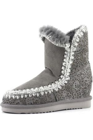 Mou Inner Wedge Short Lasered Boot