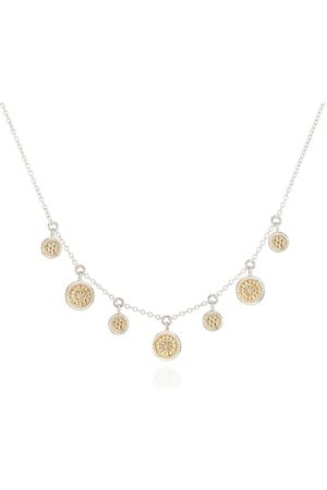 Anna Beck Mini Disc Charm Necklace - Gold &