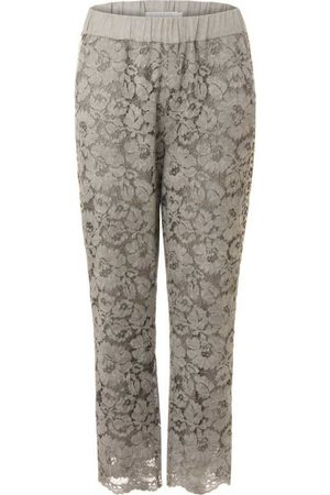 Coster Copenhagen Lace Trousers with Stripe