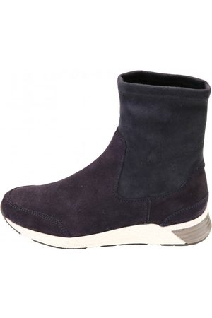 Kanna Womens K2079 Suede Sock Trainer in