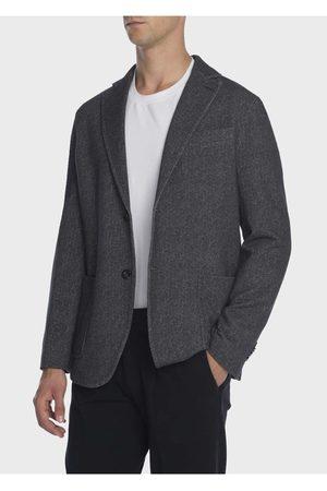 Circolo Mens CN2042 Fleece Cashmere Touch Jacket