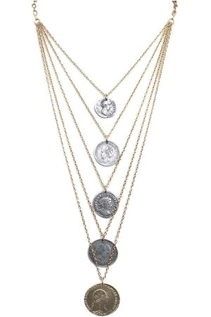 Tat2 N588 Multi Chain Necklace in