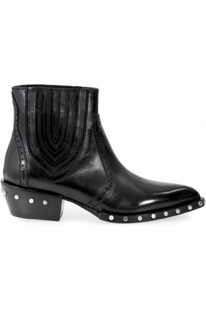 Baracuta Women Ankle Boots - BARRACUDA BD0630 STUDDED ANKLE BOOT 36