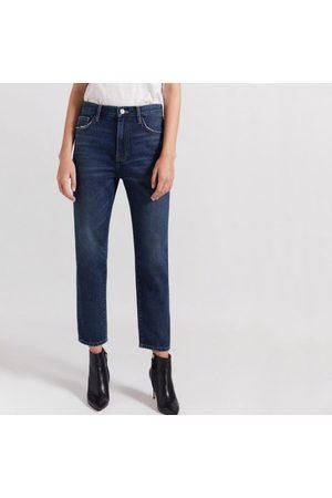Current/Elliott The Vintage Cropped Slim Jean - 1 Year Worn Rig