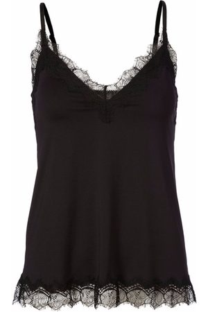 Rosemunde Billie Strap Top With Lace