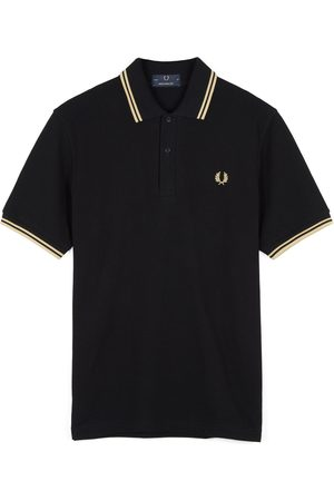 Fred Perry Reissues Fred Perry Twin Tipped M12 Polo Shirt - /Champagne