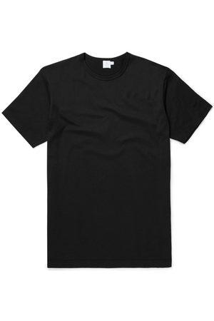 Sunspel Q8 Short Sleeve Crew Neck T-Shirt