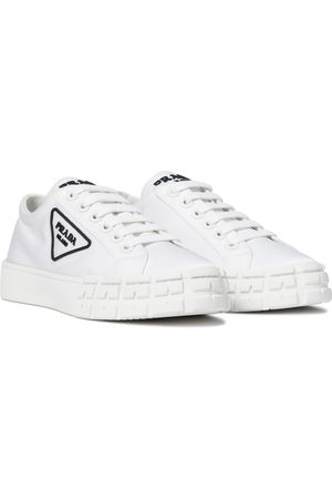 Prada Wheel re-nylon sneakers