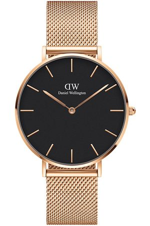 Daniel Wellington Melrose 36Mm Dial Rose Gold Stainless Steel Mesh Strap Watch