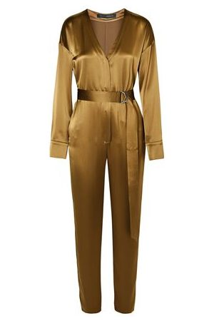SALLY LAPOINTE DUNGAREES - Jumpsuits