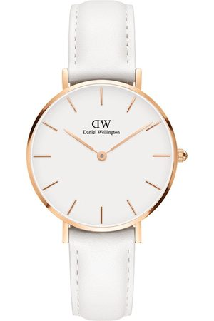 Daniel Wellington Women Watches - Bondi And Rose Gold 32Mm Dial Leather Strap Watch