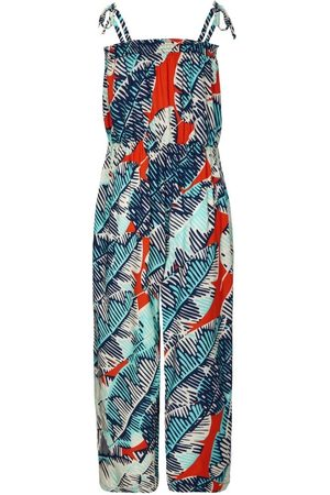 Nooki McKay Culotte Jumpsuit - Cheese Plant Print