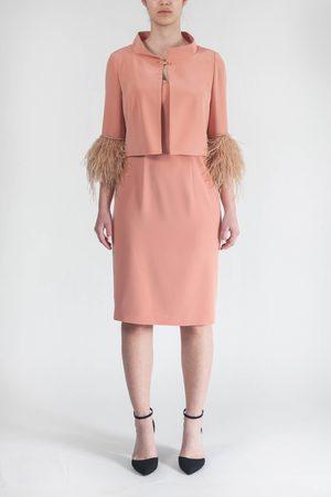 NICOLA D'ERRICO Women Dresses - Completo con piume