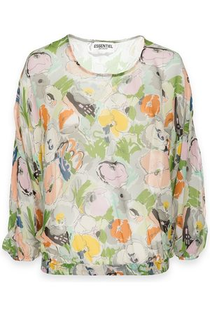 Essentiel Women Tops - Antwerp Tristory Top - T1GR Flower Print