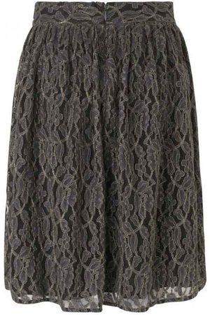Rosemunde 1610 Lacey Skirt Raven