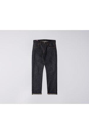Edwin Regular Tapered Nihon Menpu Jeans - Dark Pure Indigo , Raw State