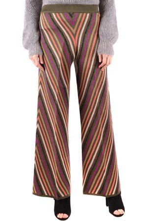 Twin-Set Printed Wide leg Trousers