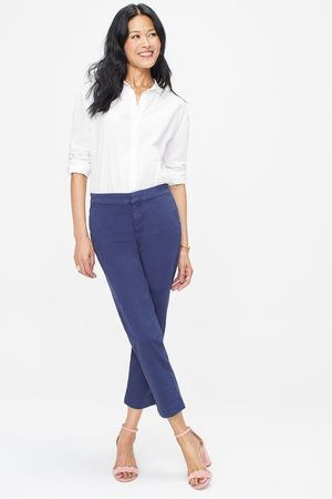 NYDJ Women Trousers - MSPM2197 Everyday Trouser Peacoat