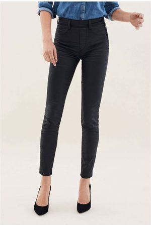 Salsa Women Skinny Trousers - 120207 Push in Secret Glamour Coated Skinny
