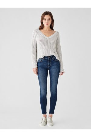 Dl 1961 Florence Ankle Mid-Rise Skinny Jeans - Write