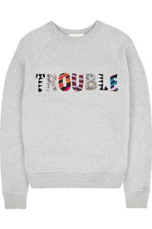 Uzma Bozai Women T-shirts - TROUBLE