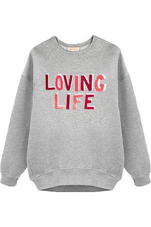 Uzma Bozai Loving Life Oversized Sweatshirt