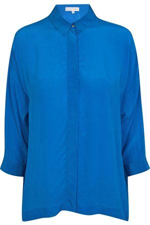 Uzma Bozai Women T-shirts - Malih Shirt - Turquoise Viscose