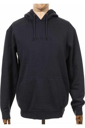 Edwin Jeans Katakana Hooded Sweatshirt - Ebony Colour: Ebony