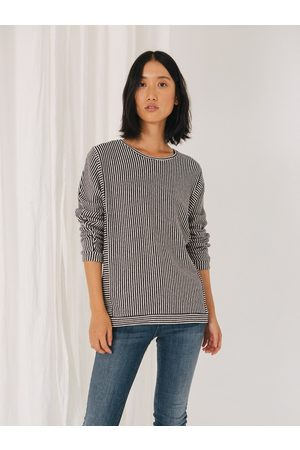 Sita Murt Soft Touch Top 595505 - White Stripe