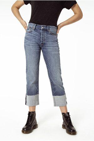 Denham Women Wide Leg Trousers - Kelly Ginger Wide Leg Jeans