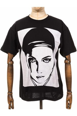 Obey Women T-shirts - Clothing Oil Lotus Woman 2 Superior Tee - Size: Small, Colo