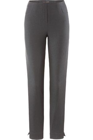 STEHMANN Women Trousers - Loli 742 trousers in graphite.